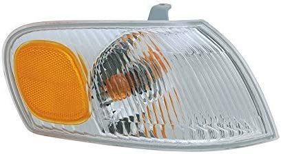 I-Match Auto Parts Passenger Front Corner Side Marker Light Assembly Replacement for 1998-2000 Toyota Corolla TO2521150 8151002040