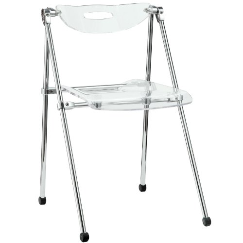 Ultra Modern Dining Chair in Clear by America Luxury - Chairs
