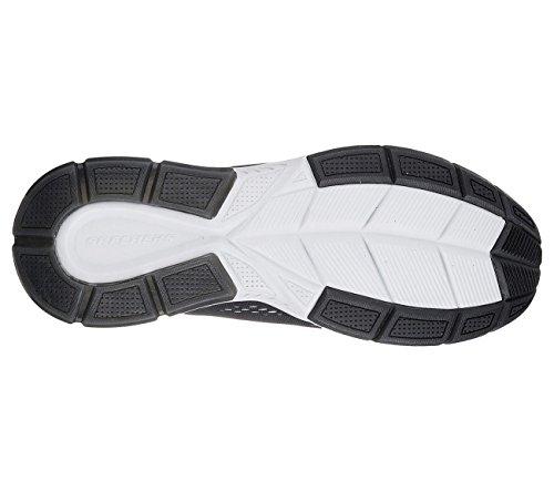 Skechers Heren Trontom Casual Schoenen Zwart, Grijs