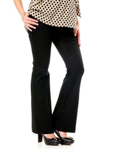 Twill Bootcut Pants - 9