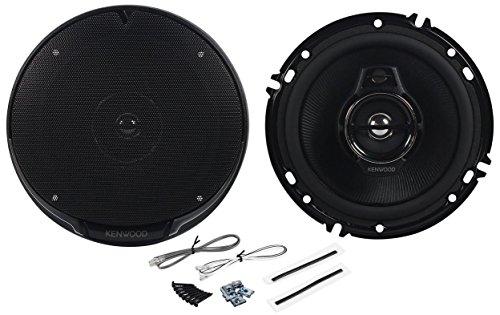 "Pair of Kenwood KFC-1695PS 6.5"" 320 Watts Peak Per Speaker (640 Watts Peak Per Pair) 3-Way 4-Ohm Car Speakers with Acoustic Sound Harmonizer Technology (Original Version)"