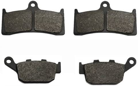 Volar Front /& Rear Brake Pads for 1998-2000 Buell Cyclone M2 S1 Lightning X1