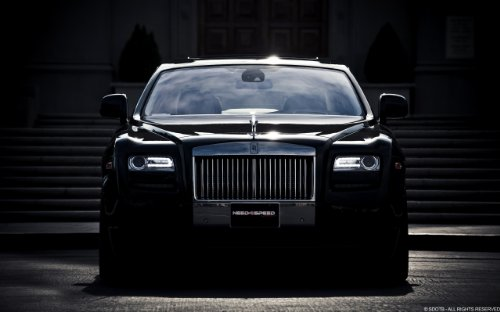 - Rolls Royce Ghost By Need4Speed Motorsports 11X17 Photo Banner Poster