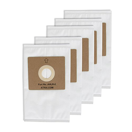 Atrix - AHLR-2 HEPA Filter Bags - Replacement Vac Filter Bag for AHSC-1 Lil' Red Vacuum Cleaner (5-Pack) by Atrix