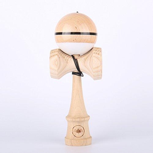 Wood Ash Stripe (WANG Kendama Ash Kendama With Maple Super Sticky Tama)