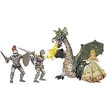 Papo Knights, Dragon & Princess Pack