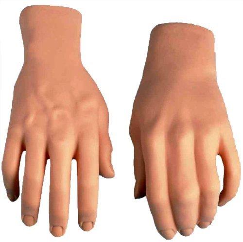 Forum Novelties Men's Prop Stage Hands, Nude, One Size -