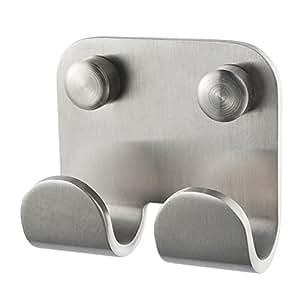Haceka IXI Pack de Embellecedor Tornillos, Metal, Gris, 1.04x1.04x1.04 cm 12 Unidades