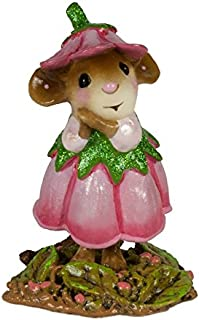 product image for Wee Forest Folk M-640f June Flower Mouse of The Month (New 2018)