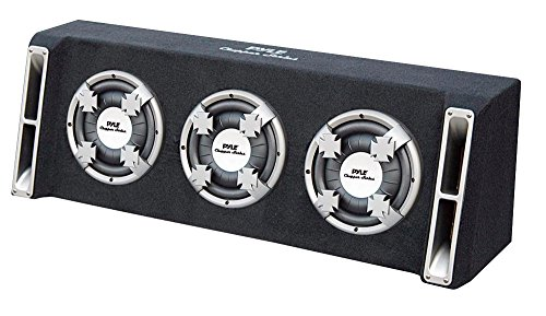 Pyle PL310TS Triple 10-Inch Slim Designed Bass Box System