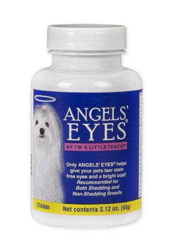 Angels' Eyes Tear-Stain Eliminator for Dogs, Chicken Flavor, 60 Gram Bottle, My Pet Supplies