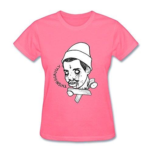 Niceda Women's Earl Sweatshirt Short Sleeve T Shirt Pink (Late Night With Jimmy Fallon T Shirt)
