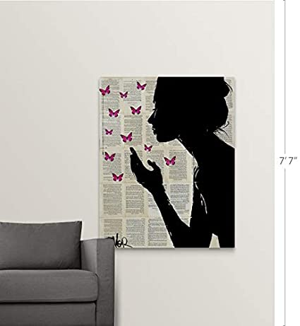 Amazon.com: Gallery-Wrapped Canvas Entitled Simplicity by ...