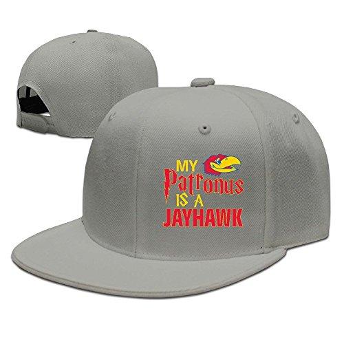 MaNeg Rock Chalk Jayhawk Unisex Fashion Cool Adjustable Snapback Baseball Cap Hat One Size - Online Bvlgari Bags Shop