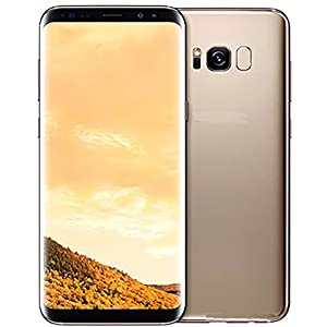 Samsung Galaxy S8 Factory Unlocked Smart Phone 64GB Dual SIM - International Version (Gold)