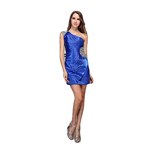 42 Damen Ital Blau Festamo bei Gr Mini Cocktail Kleid In Design Für w78RT