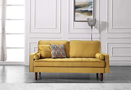 US Pride Furniture Sofas, Gold - Solid Wood Frame Tufted back - sofas-couches, living-room-furniture, living-room - 41MpYlu2kRL -