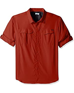 Men's Big-Tall Silver Ridge Lite Long Sleeve Shirt, Tuscan, 2XT