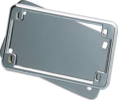 Kuryakyn 9166 License Frame and Back Plate -