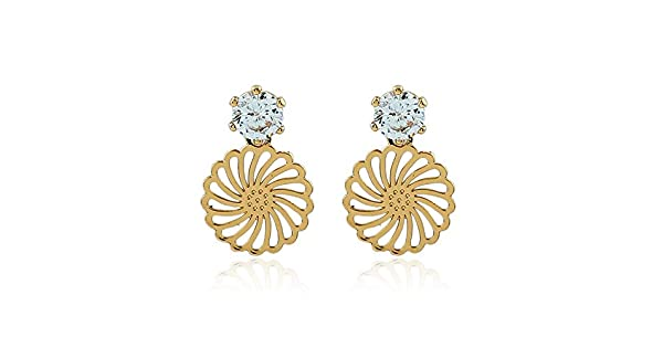 9aa74a424e17 PLLP Joyas Novedosas  Personalidad Creativa Oreja de Diamante Hueca Aretes  Hermosos de Moda Europea Y Americana Joyería Femenina