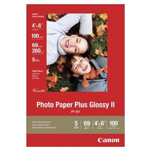 Canon 2311B023 Glossy II 4x6 Photo Paper Plus, 100 Sheets (2311B023) ()