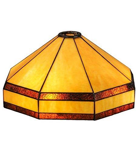 Meyda Tiffany 98275 Wagon Wheel SHD/RNG: 47821 Lamp Shade, 14