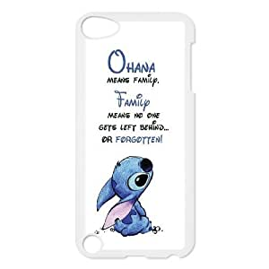 James-Bagg Phone case Lilo And Stitch - Ohana Means Family FOR Ipod Touch 5 Style-12