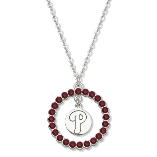 MLB Philadelphia Phillies LogoArt Spirit Necklace
