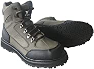 8 Fans Men's Fishing Hunting Wading Shoes,Anti-Slip Durable Rubber Sole Lightweight Wading Waders B