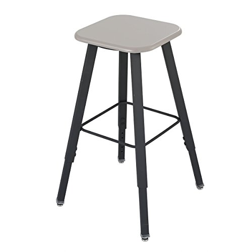 Safco AlphaBetter Stool - Black (frame);Beige (seat) electronic consumers ()