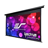 Elite Screens Spectrum AcousticPro, 125-inch 16:9, 4K Sound Transparent Electric Motorized Projection Projector Screen, Electric125H-AUHD