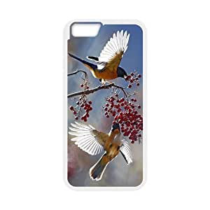 """ALICASE Diy Hard Shell Cover Case Of Hummingbird for iPhone 6 Plus (5.5"""") [Pattern-1]"""