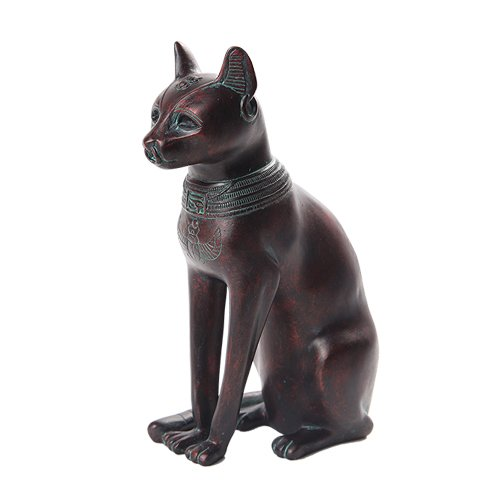 Bastet Statue - 5.5 Inch Small Bastet Mythological Egyptian Statue Figurine