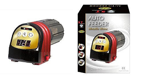 S.T. International Auto Fish Feeder, Red by S.T. International