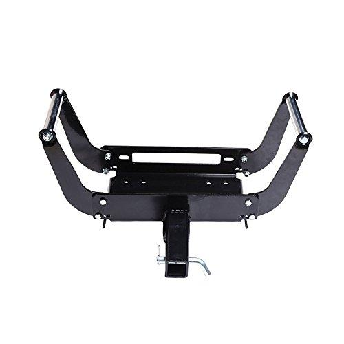 Universal Trailer Winch - OFFROAD BOAR Universal Winch Cradle Mounting Plate Bracket Trailer Truck ATV 4WD