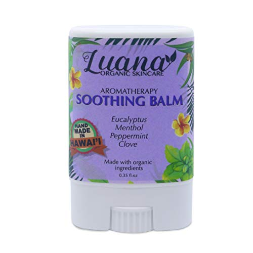 Morning Sickness Balm - Luana Organics Aromatherapy Soothing Balm | for Nausea, Morning Sickness, Headaches, Bug Bites