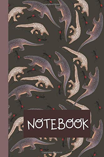 Notebook  Unique Lined Journal To Write In   Pangolin Themed Gift   Birthday Present For Pangolin Lovers