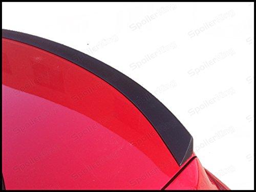 (Spoiler King Trunk Lip Spoiler (818L) Compatible with Hyundai Genesis 4dr 2009-2014 )