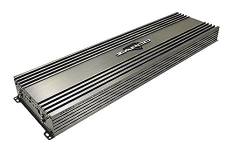 zapco 2 Canal 2000 W Rms amplificador de clase A/B Serie ZX: Amazon.es: Electrónica