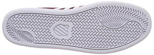 K-swiss Herren Corte Cheswick Sde Sneaker Rot (oxblood / Bianco)