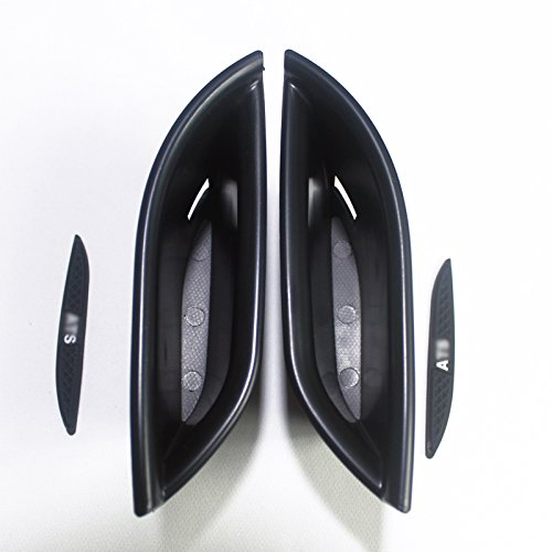 HIGH FLYING Door Rear Back Inner Storage Glove Boxes Container 2PCS For Cadillac ATS 4dr Sedan 2014-2018