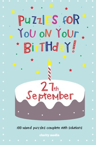 Read Online Puzzles for you on your Birthday - 27th September PDF