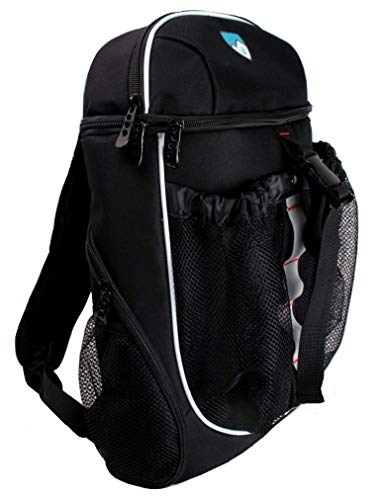Hard Work Sports Basketball Backpack, Soccer Bag with Ball Compartment Unisex One Size by Hard Work Sports (Image #2)