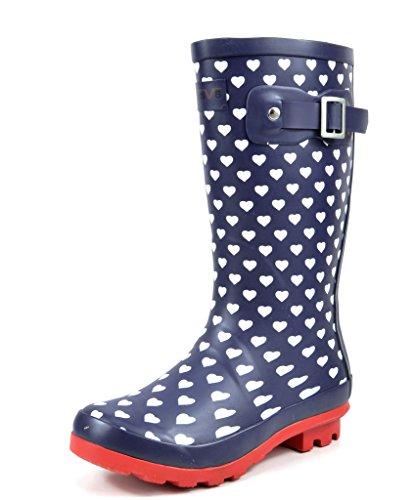 Arctiv8 KORIGIN Kids Rubber Outdoor Waterproof Pull On Rain Boots New Black Gross Size 5 Big Kid
