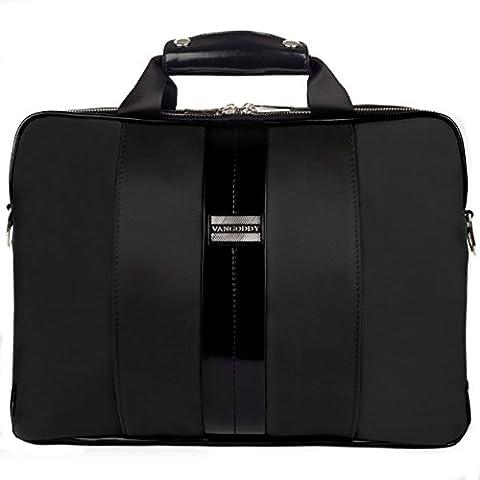 VanGoddy Black Laptop Messenger Bag for MSI Prestige / GT Series (Msi Gt70 Gtx980)