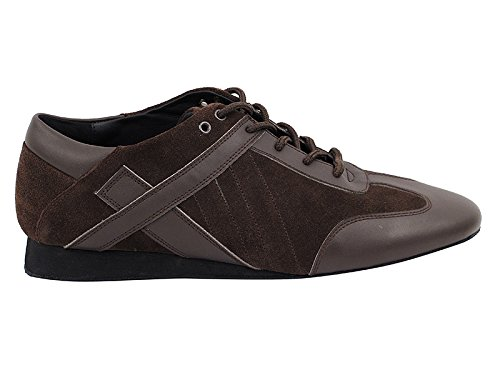 6 13 Latin Shades Size Standard Dress Comfort 50 Party Art Brown Dance Coffee Ballroom Salsa Leather Smooth amp; Flat 106bbx Men's Shoes Collection 5 Suede Party Theather vfZdq8Zx
