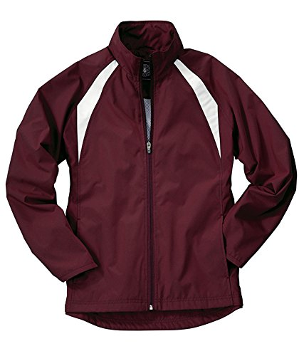 Charles River Apparel Women's TeamPro Jacket, Medium, Purple