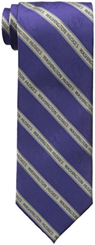 NCAA Washington Huskies Prep Tie, One Size, ()