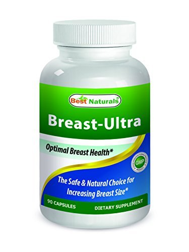 Best Naturals Breast-Ultra Breast Enlargement Pills 90 Capsules by Best Naturals