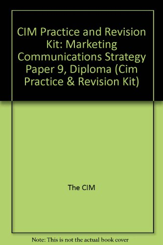 Cim Practice Revision Kit Communications Pdf 16b58c07e Hello Prosuct Massage
